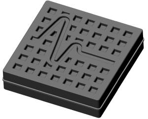 Rubber Vibration Isolation pad